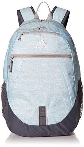 adidas Foundation Rucksack, Unisex-Erwachsene, Foundation, Rucksack, 977615, Jersey Clear Mint/Onix Grau/Grau Two 3, Einheitsgröße