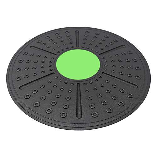 Tabla de Equilibrio Profesional,Plataforma de Equilibrio de Fitness,Disco oscilante para Entrenamiento de Estabilidad y rehabilitación de Ejercicio físico, Yoga Ejercicios en casa (Verde)