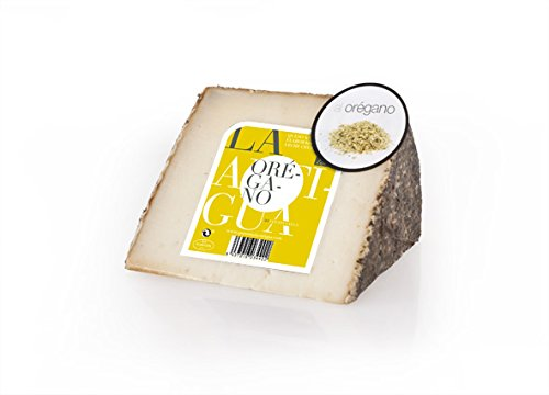 QUESERIA LA ANTIGUA DE FUENTESAUCO - Queso añejo de leche cruda de oveja con orégano (2 x 400gr Aprox.)