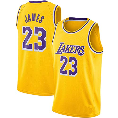 Los Angeles Jersey James 2020 Finals Champions #23 Jersey Lak-ers Shirt for Men (James7,L)