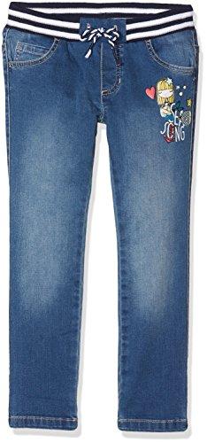 United Colors of Benetton Trousers, Pantaloni, Bambina, Blu (Blue 901), 100 (Taglia produttore: XX)