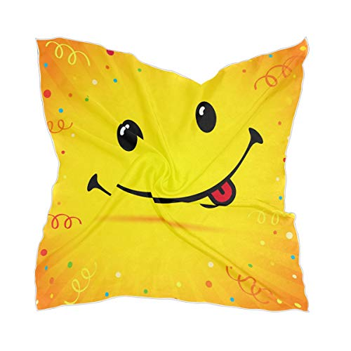 XiangHeFu chiffon-zakdoek geluk glimlachend schier zijden sjaal hoofddeksel meisje dun