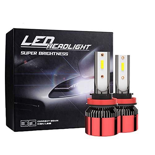 DOOK LED Bulbo de la Linterna de Alta Potencia 40W 10000LM Extremadamente Brillante Blanca 6000K Kit de conversión, con IP68 a Prueba de Agua