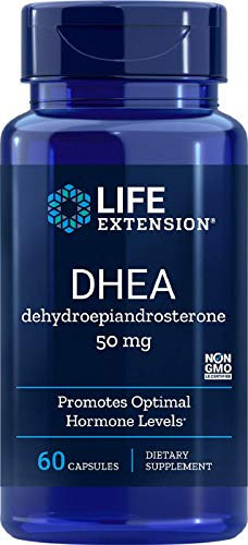 Life Extension Dhea 50 Mg, 60 Capsules