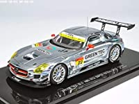 エブロ 1/43 GREEN TEC SLS AMG GT3 SUPER GT300 2013 No.22 完成品