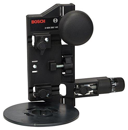 Bosch Professional Zubehör 2609200143 Fräszirkel und Führungsschieneadapter