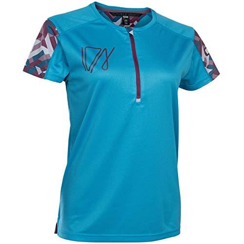 Ion Traze Damen Fahrrad Trikot kurz blau 2019: Größe: M (38)