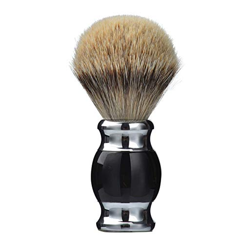 Our #7 Pick is the Je&Co Silvertip Badger Hair Shaving Brush