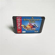Lksya Carte de jeu MD 16 bits A Dinosaur's Tale pour cartouche de console de jeu vidéo Sega Megadrive Genesis (coque japon...