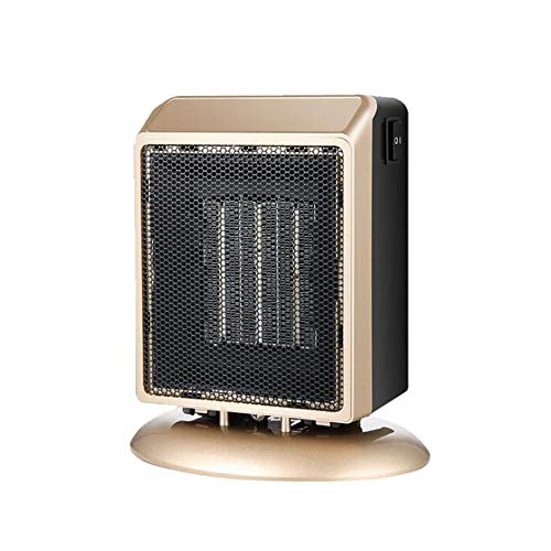 Heater Mini household electric, Desktop Fan, 2 Heat Settings 400W/900W,Over-heat & Tip-over Protection,Smart thermostat,Silent operation