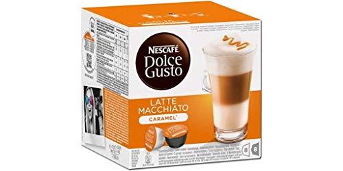Dolce Gusto Latte Macchiato Caramel (lot de 64 capsules)