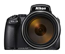 Nikon Coolpix P1000 Digitalkamera (16 Megapixel, 125-Fach optischer Megazoom, 3.2 Zoll RGBW-Display, 4K UHD-Video, WI-Fi) © Amazon