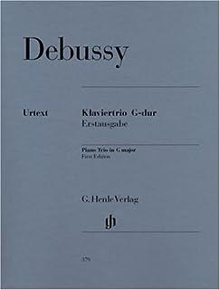 Piano Trio in G (First Edition)violin, cello and piano