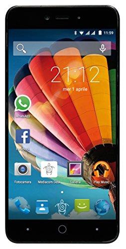 Mediacom PhonePad Duo G515 Smartphone da 8 GB, Dual-SIM, Oro