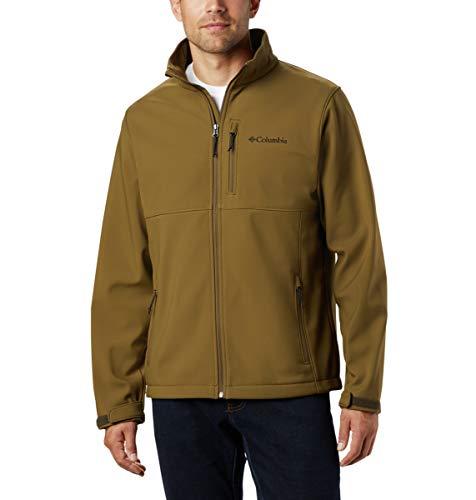 Columbia Ascender Softshell Jacket Chaqueta entallada, New Olive, 5X alto para Hombre