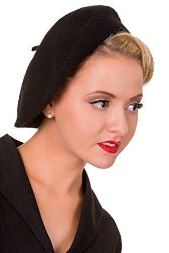 Claire prohibido sombrero de época - Vintage Rose / One Size