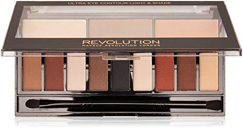 Makeup Revolution Ultra Eye Contour Palette Light & Shade Paleta do makijażu oczu