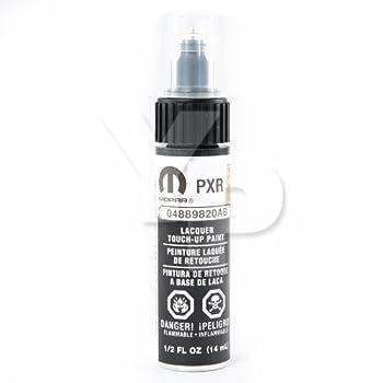Dodge Chrysler & Jeep MOPAR Touch Up Paint 0.5oz Bottle   9820  AXR / PXR Brilliant Black Crystal