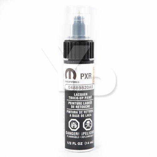 Dodge Chrysler & Jeep MOPAR Touch Up Paint 0.5oz Bottle: (9820) AXR / PXR Brilliant Black Crystal