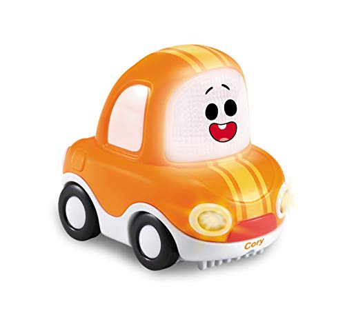 Vtech 80-523204 TUT Babyspielzeug, Babyfahrzeug, Spielzeugauto, Cory Flitzer