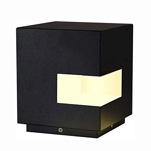 Big Shark Klein Cube LED-lamp Moderne kubusvormige spleet lamp-palen zuil licht outdoor street tuinverlichting waterdichte regenbescherming plafond zuil Stigma lamp