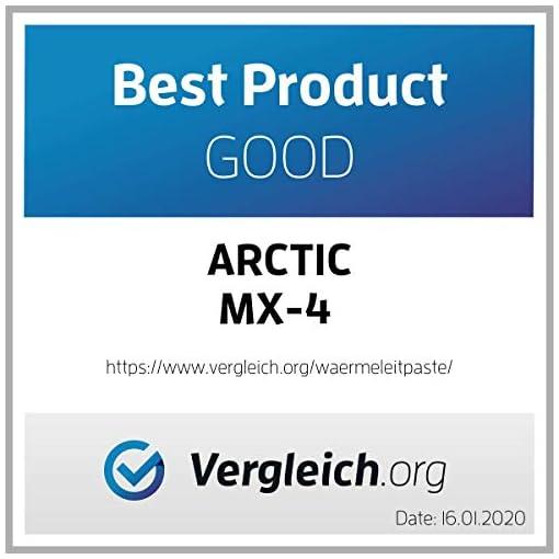 ARCTIC MX-4 (Espátula incl, 8 g) - Compuesto térmico de alto rendimiento de micropartículas de carbono, pasta térmica… 5