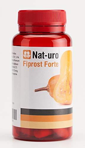 Nat-uro Fiprost Forte | Producto natural para el cuidado de la próstata a base de saw palmetto, pygeum africanum y semillas de calabaza | 60 cápsulas