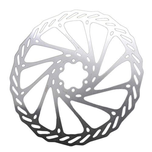 Kuinayouyi Rotor de Freno de Disco de Bicicleta de 2 Piezas Rotores de Freno de Disco de Bicicleta con Pernos 203 Mm para Bicicleta de Carretera de Montaaa
