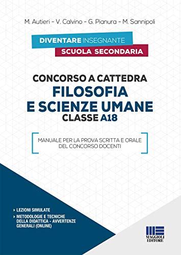 Concorso a cattedra 2019. A18 filosofia e scienze umane