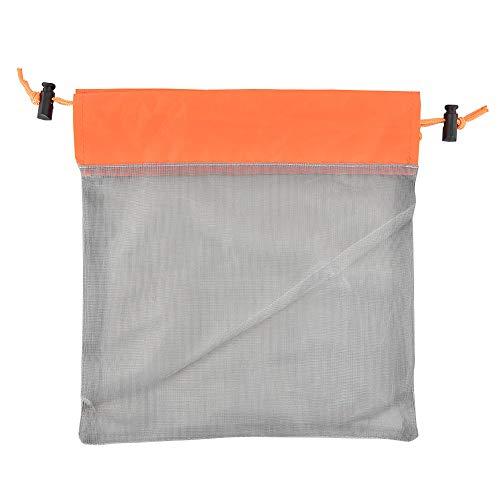 SANGSHI Sac à cordon – Trousse de maquillage portable en maille filet pour toilettes, organiseur de lavage avec cordon de serrage pour homme et femme