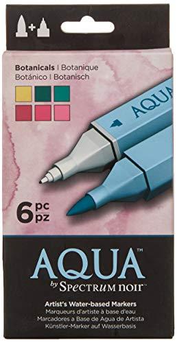 Spectrum Noir SPEC-AQ6-EAR SPECN-AQ6-BOT Watercolor Marker Set