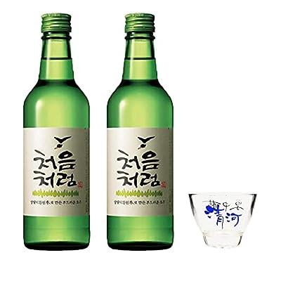 Lotte Chum Churum Soju - Original Alc 17% 360ml (Pack of 2)