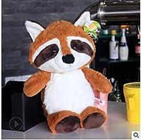 1個25/35 / 50cmカワイイアライグマぬいぐるみラブリーアライグマかわいいやわらかいぬいぐるみ女の子用人形枕子供子供赤ちゃん誕生日プレゼント 50cm brown