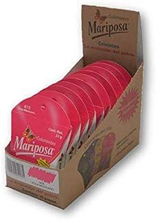 Mariposa Cristales Rosa Mexicano 613 Colectiva Con 10 piezas