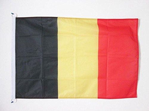 AZ FLAG Bandiera Belgio 90x60cm per Esterno - Bandiera Belga 60 x 90 cm