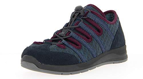 VAROMED Calgary 87130 Damen, Frauen Trekking Sandalen,Outdoor-Sandale,Gesundheits-Schuh,Schnellverschluss,bequem,Ozean,37 EU / 4.5 UK