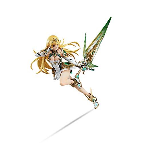 Yuxunqin Xenoblade Chronicles / Mythra (Hikari) Nette und verfeinerte Version Action-Figur Festival Geschenk PVC-Modell Zahlen
