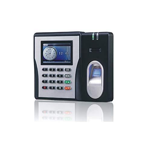 Máquina de control de acceso por huella dactilar b Biométrico de huellas dactilares del registrador del reloj digital empleado Electrónico Inglés Español portugués Voice Reader Máquina Comprue