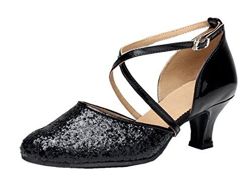 MGM-Joymod , Damen Jazz & Modern , Schwarz - Style1 Black/5cm Heel - Größe: 35.5