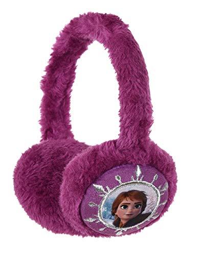 Cache oreilles enfant fille Disney La reine des neiges Elsa Bleu clair et Violet Taille unique (Violet)