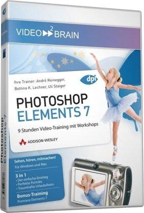 Photoshop Elements 7 - Video-Training: 9 Stunden Video-Training mit Workshops (AW Videotraining Grafik/Fotografie)