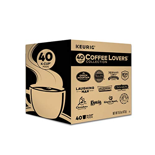 Keurig Coffee Lovers' Collection, Single Serve K-Cups, 60 Pack Now $20.89 (Was $36.99)