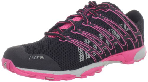 Inov-8 Women's F-lite 215-W, Black/Pink/Grey, 11 M US