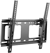 Mount-It! Truss TV Mount with Quick Release Truss Clamp, Tilting TV Mount for 48 to 51 mm Truss Installation, Up to VESA 400x400, 88 Lbs Capacity