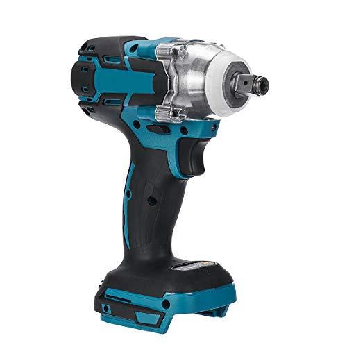 HJXSXHZ366 / 18V sin Cable sin escobillas Destornillador Llave de Impacto sin escalonamiento Cambio de Velocidad Interruptor de batería for Adaptado 18V Makita