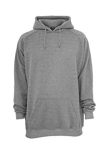 TB282 \'Urban Classics\' Tall Hoody Xtra Long (Various Colours), Größe:XXLT;Farbe:grey