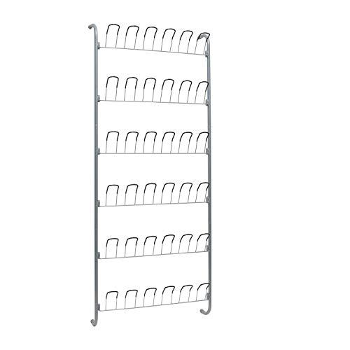 Organize It All Over-The-Door 18 Pair Hanging Wire Shoe Rack
