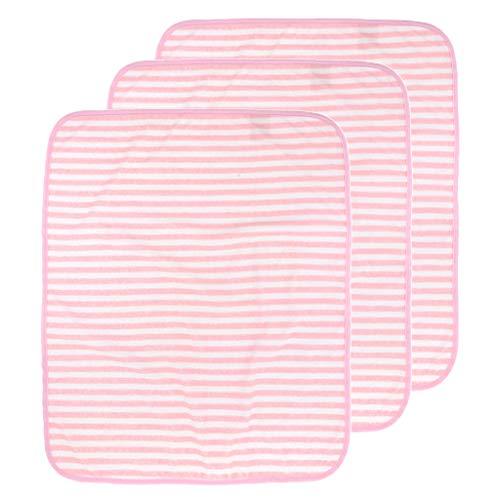 MERIGLARE 3 Piezas de Cojines de Cama Protector de Colchón Impermeable Lavable