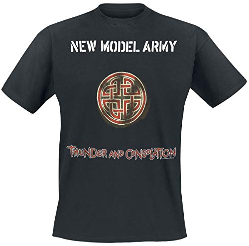 New Model Army Thunder and Consolation T-Shirt schwarz XL