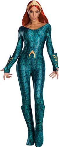 Rubies 821200L - Disfraz Oficial de DC Aquaman The Movie, para Mujer, Talla Grande (36 a 40), Multicolor